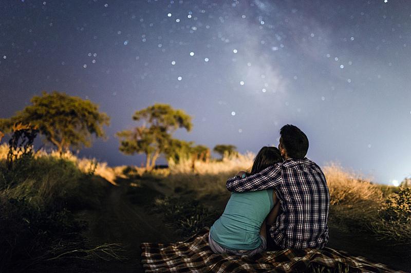星星,伴侣,星系,银河系,在下面,一见钟情,天文学,空间和天文学,天堂,乌克兰