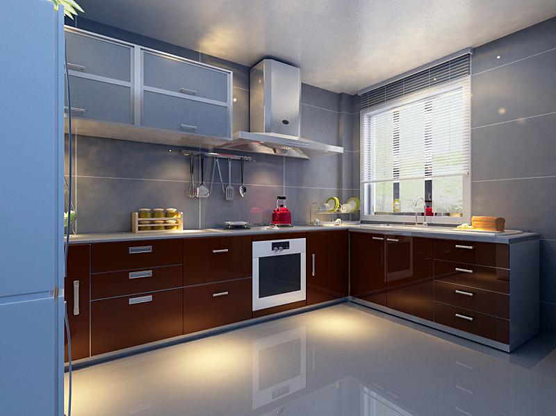 住宅房间,厨房,美,未来,座位,水平画幅,无人,椅子,阴影