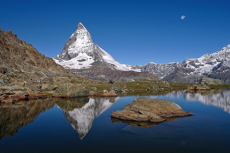马特洪峰,风景,日光,白昼,美,戈尔内格拉特,度假胜地,休闲活动,水平画幅,山