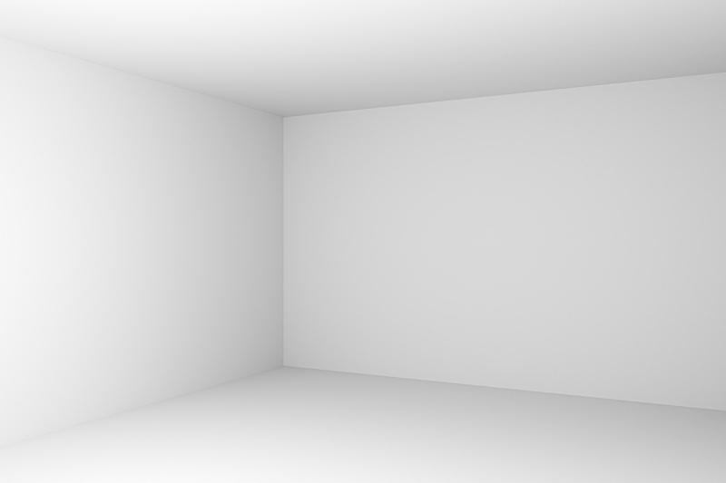 特写,白色,空的,角落,抽象,住宅房间,办公室,留白,水平画幅,无人