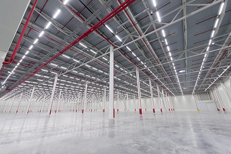 空的,现代,室内,仓库,商务,地板,建筑物门,装卸港,飞机库,设备用品