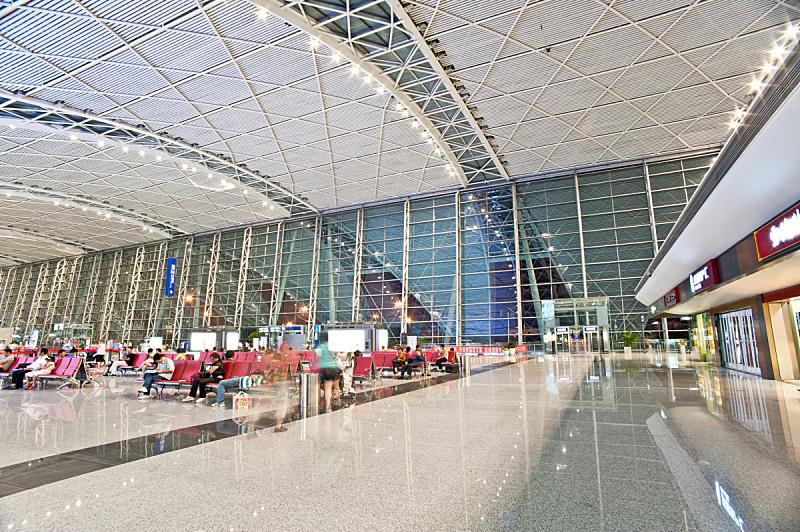 机场,售票窗口,大头贴,电话亭,水平画幅,建筑,无人,商务旅行,行李,建筑空间