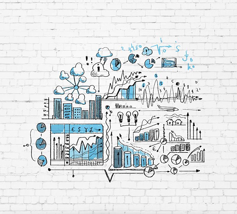 商务,草图,商务策略,研究会,水平画幅,无人,金融,数据,新创企业
