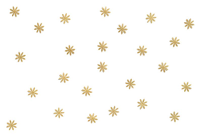 黄金,白色背景,纸,水平画幅,泰国,明亮,闪亮的,节日,金色,纹理