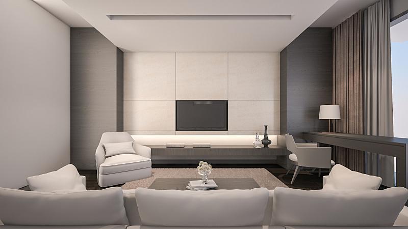 三维图形,华贵,起居室,褐色,灵感,水平画幅,形状,墙,椅子,地毯