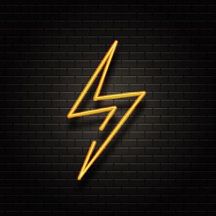 能源,霓虹灯,电,矢量,雷雨,概念,背景,闪电,保护,写实