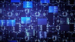 电路板,未来,安防系统,安全,监测仪器,电脑芯片,数字化显示,互联网,电子行业,蓝图
