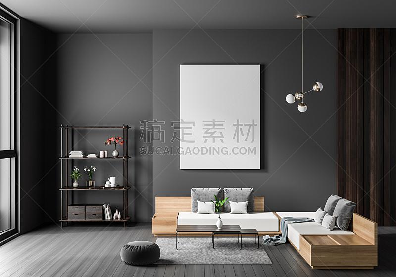 边框,现代,正下方视角,三维图形,绘画插图,轻蔑的,室内设计师,高雅,极简构图
