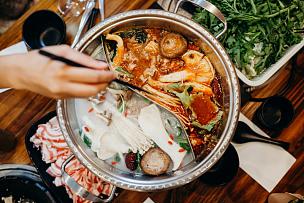 食品,筷子,膳食,手,波特派,日式火锅菜,成都,四川菜,香料,中国食品