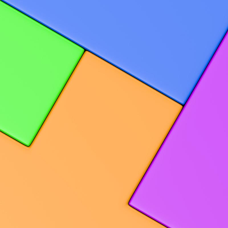 三维图形,多色的,背景,多样,积木,形状,砖,概念,图像,绘画插图