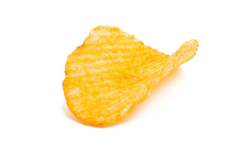 薯片,分离着色,黄色,清新,乌克兰,食品,图像,水平画幅,小吃,堆