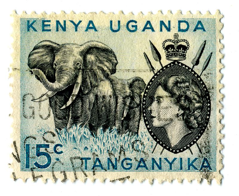 蓝色,乌干达,肯尼亚,水平画幅,无人,非洲,背景分离,殖民地式,图像