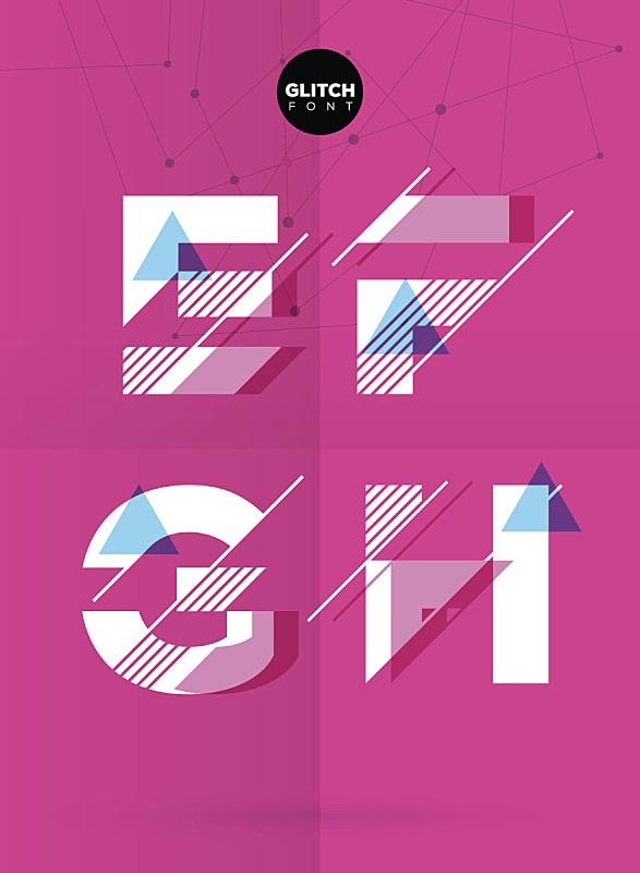 字母,矢量,插画,绘画插图,艺术,纹理效果,形状,符号,计算机制图,计算机图形学