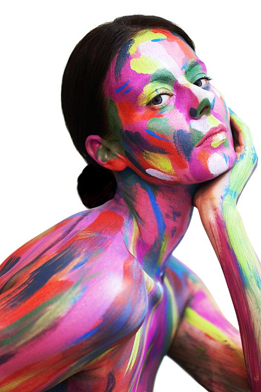 人的脸部,女孩,手,青年人,注视镜头,自然美,身体装饰,肖像,现代,女人