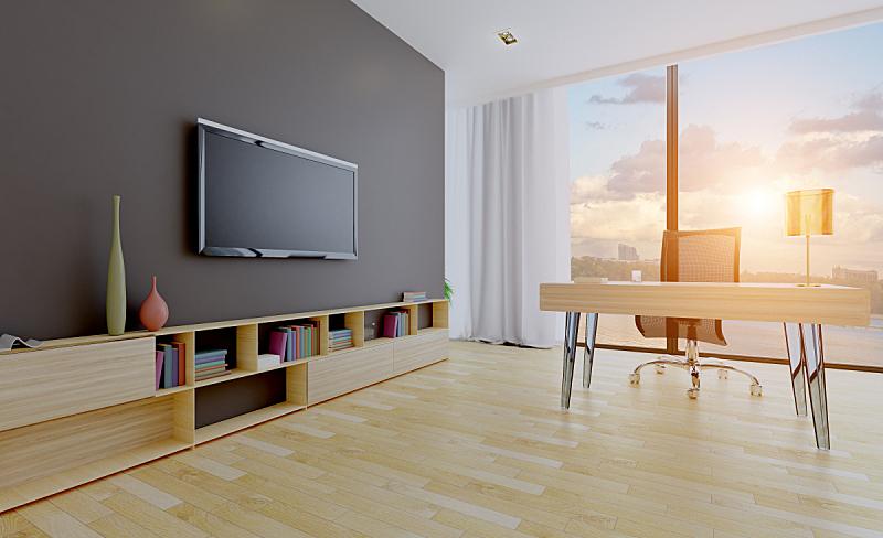 室内,灰色,巨大的,背景,商务,光,现代,墙,办公室,住宅房间