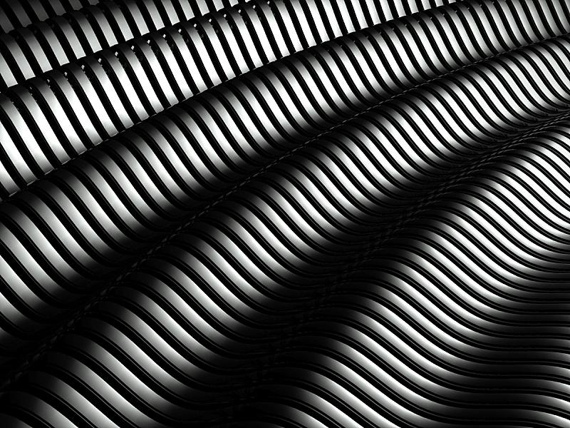 银色,式样,抽象,背景,铝的,三维图形,未来,水平画幅,形状,弯曲