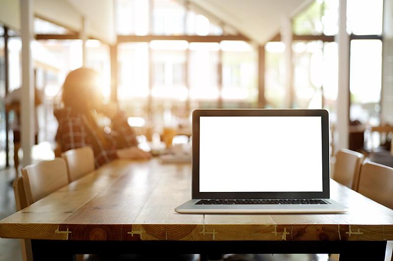 办公室,计算机,显示器,轻蔑的,正下方视角,笔记本电脑,水平画幅,工作场所,消息,无人