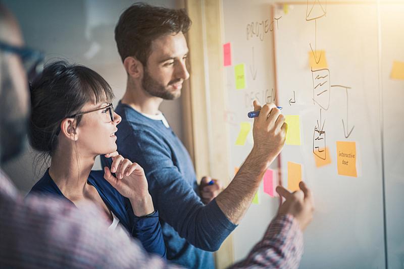 青年人,创造力,办公室,会议,商务人士,领导能力,新创企业,仅成年人,培训课,想法