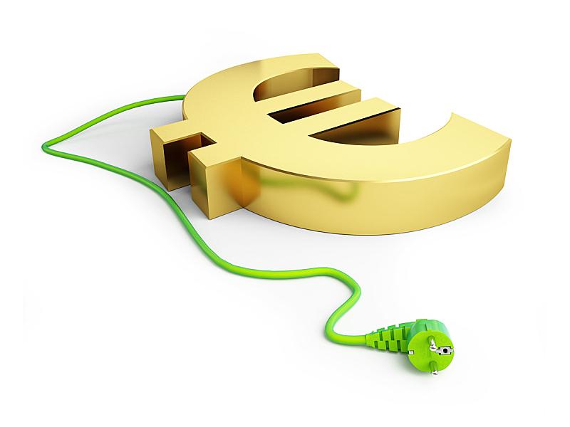 替代能源,网线插头,白色背景,美元符号,电容器,水平画幅,形状,无人,符号,银行业
