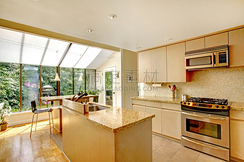 厨房,计划书,门前露台,住宅房间,水平画幅,建筑,无人,豪宅,房地产,天花板