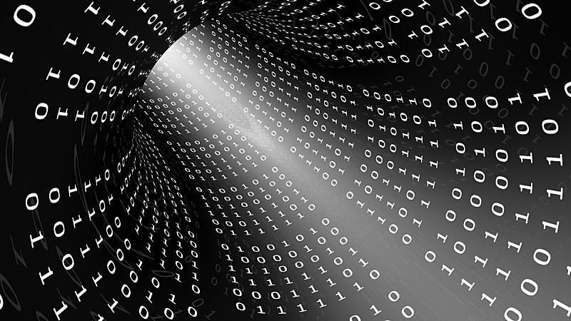 二进制码,隧道,混沌,电缆,未来,水平画幅,纹理效果,形状,装管,无人