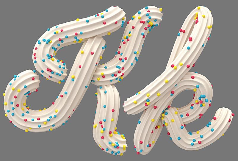 奶油,字体,糖果,白色,字母,甜馅饼,水平画幅,形状,蛋糕,甜点心