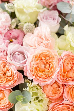 花束,木制,花卉商,花店,职业,多样,花瓶,桌子,自然美,花
