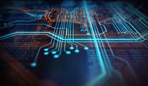 技术,橙色,蓝色,背景聚焦,母板,电路板,超文本链接标示语言,网络服务器,电子行业,电脑芯片