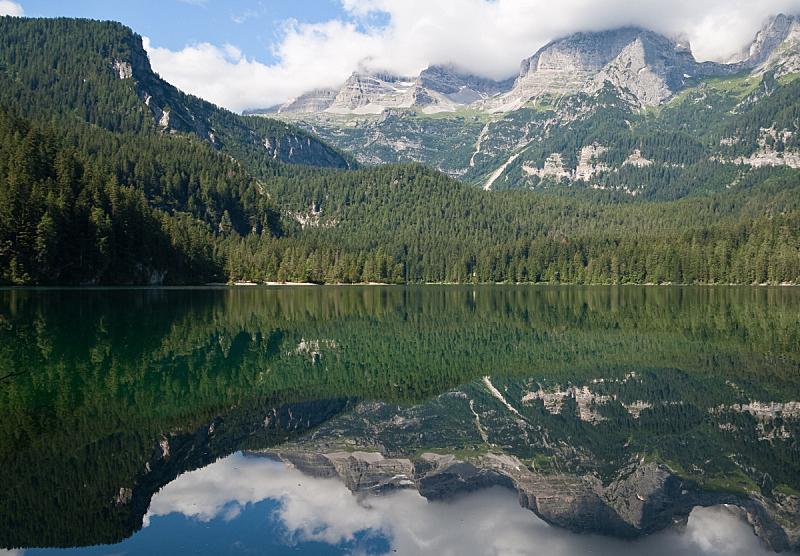 托威尔湖,天空,水平画幅,无人,户外,湖,树林,彩色图片,山,阿尔卑斯山脉