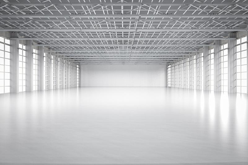 空的,室内,工厂,地板,建筑业,飞机库,贮藏室,豪宅,门厅,植物