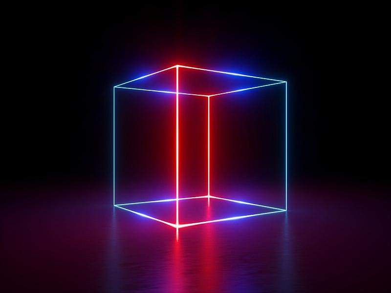 笼子,光谱色,霓虹灯,条纹,抽象,激光,背景,红外摄影,发光,表演