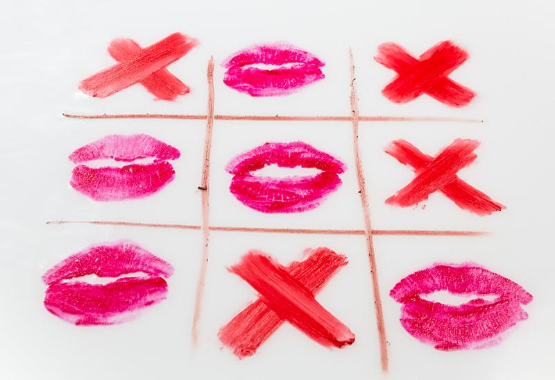嘴唇,井字游戏,横越,式样,黑色,视角,秘密,热,休闲游戏,背景分离
