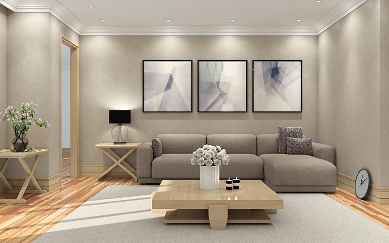 起居室,现代,绘画艺术品,住宅内部,家庭生活,装饰物,室内,公寓,华贵,居住区