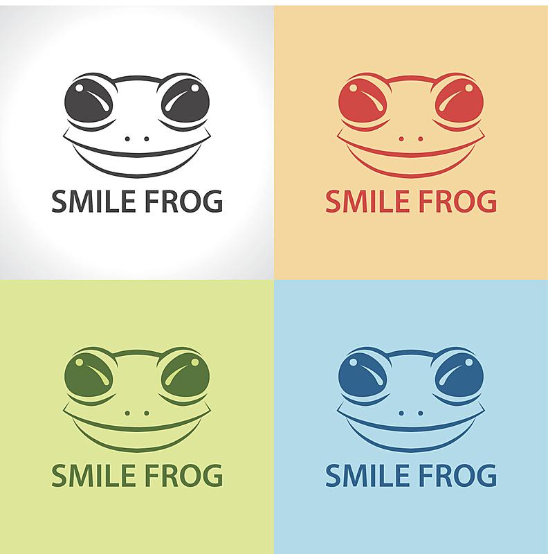 青蛙,符号,计算机图标,牛蛙,蟾蜍,可爱的,热带气候,灰色,橙色,动物