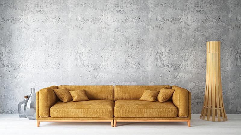 复式楼,沙发,华贵,舒服,地板,复古风格,现代,古典式,凌乱,豪宅