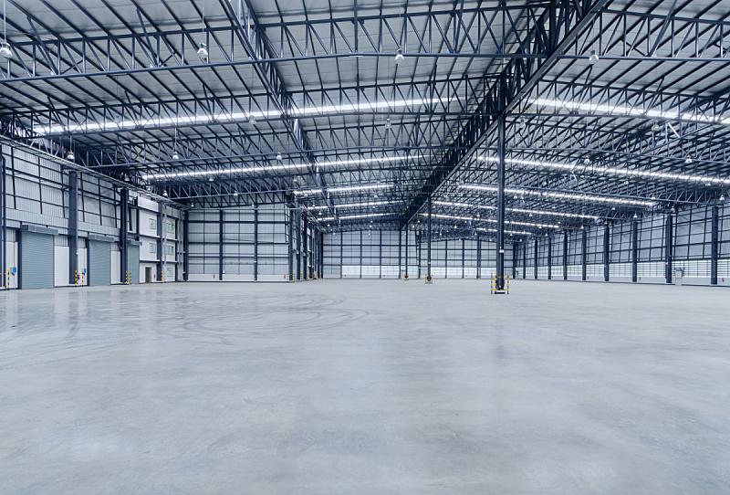 仓库,空的,室内,飞机库,地板,工厂,工业,巨大的,门厅,极简构图