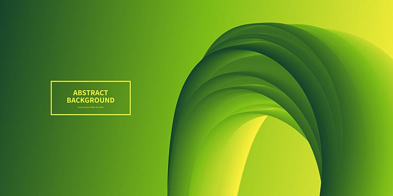 液体,绿色,抽象,渐变背景,活力,彩色背景,橙色,设计,弯曲,流动
