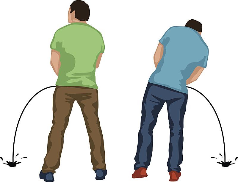 两个人,人,衬衫,尿液,男人,图像,浴室,成年的,矢量,膀胱
