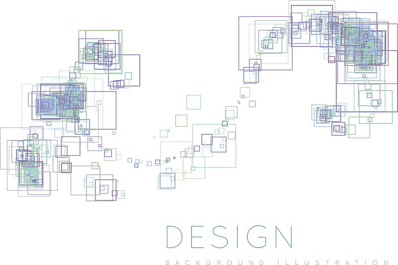 现代,背景,正方形,艺术,水平画幅,形状,无人,绘画插图,几何形状,计算机制图