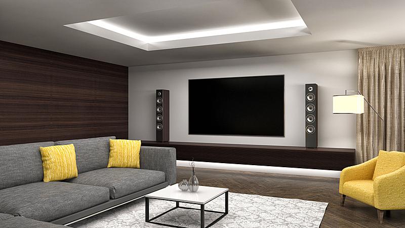 绘画插图,起居室,三维图形,室内设计师,极简构图,家庭,华贵,舒服,食品,地板