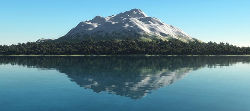 自然,水平画幅,无人,全景,户外,湖,山,2015年,沼泽,叶子