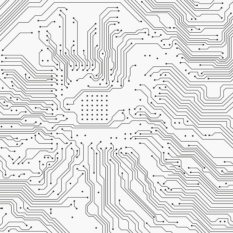 电路板,厚木板,背景聚焦,用栅木板阻断,线条,条纹,矢量,工程师,黑板,图像