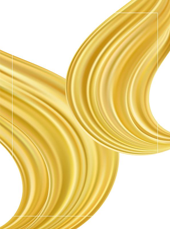 模板,现代,液体,式样,形状,背景,黄金,抽象,流动,挥手