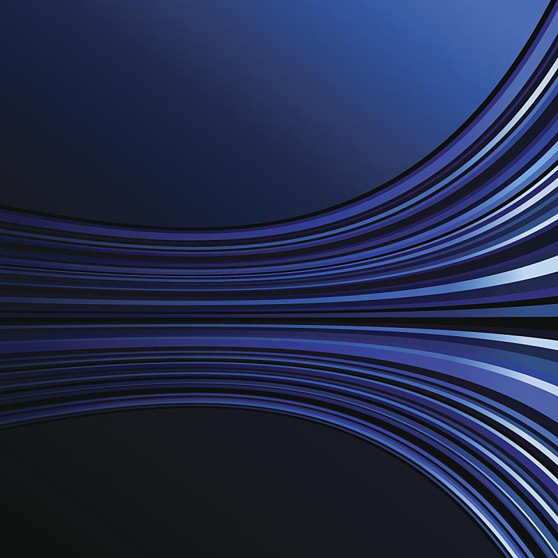 背景,抽象,深蓝,色彩渐变,波形,成一排,气氛,电力线,基本粒子,纹理效果