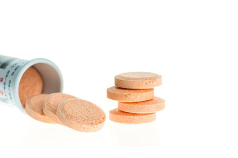 止咳片,白色,分离着色,橙子,黄色,健康保健,红色,白色背景,背景分离,药