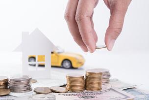 汽车,堆,会计科目,住房,文档,贷款,银行存款单,金融,储蓄,水平画幅