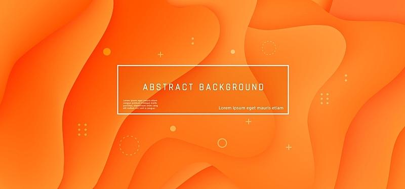矢量,橙色,抽象,背景,纹理效果,光,传单,明亮,现代,模板