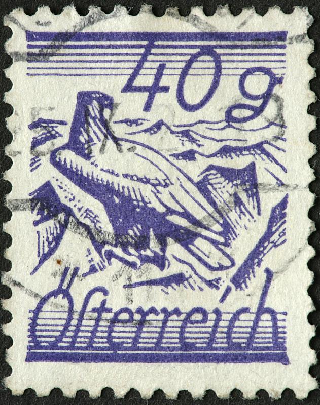 古典式,奥地利,鹰,摆拍,平衡折角灯,垂直画幅,食肉鸟,符号,鸟类