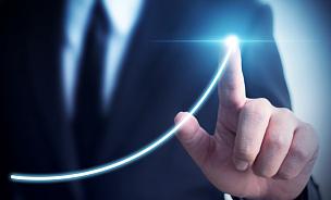 商务,概念,图表,做计划,男商人,发展,生长,瞄准,预测