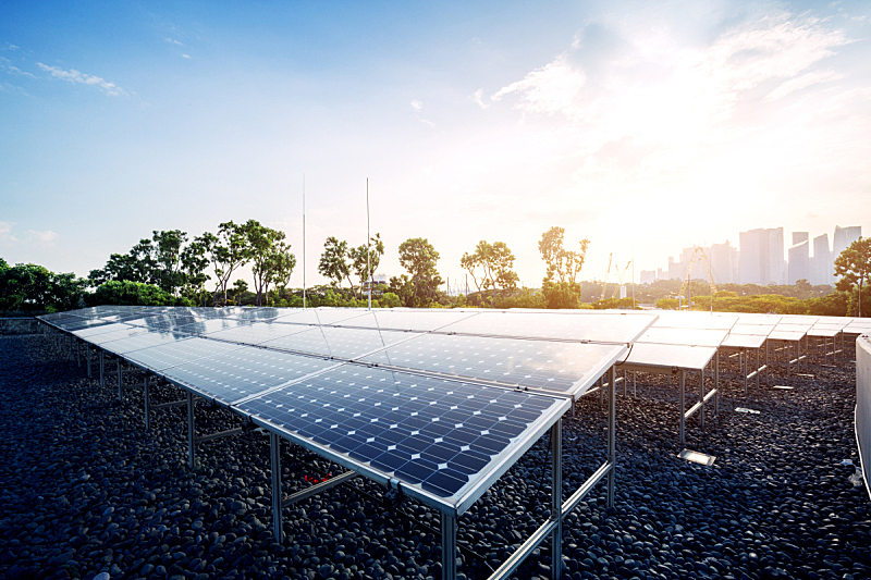 太阳能电池板,田地,晴朗,天空,青绿色,太阳能设备,太阳能发电站,太阳能,可再生能源,发电站